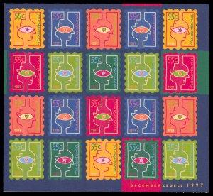 Netherlands 1997 Scott #981a Mint Never Hinged