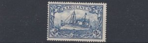 CAROLINE ISLAND 1901   S G 23    2M  BLUE      MH