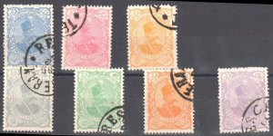 Iran (Poste Persanes) #113-119 USED With CDS C$57.00