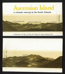 Ascension Flowers Booklet Stapled right 1981 MNH SG#SB3a