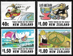 New Zealand # 1472 - 75 Mint Never Hinged