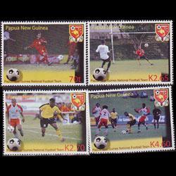 Papua New Guinea MNH 1136-9 Soccer Team 2004