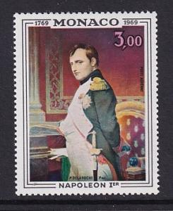 Monaco  #C76   MNH  1969  paintings  Napoleon