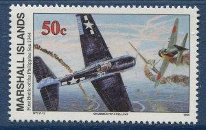 Marshall Islands 1994 World War 2 WW II Scott 491 Battle Philippine Sea W77 NH
