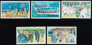 Ryuku Islands  # 185 - 189 LH