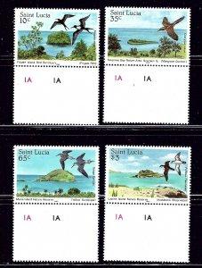 St Lucia 770-73 MNH 1985 Birds    #2