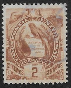 GUATEMALA SC#  32  VF/U