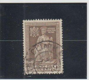 Ireland  Scott#  144  Used  (1950 Statue of St. Peter)