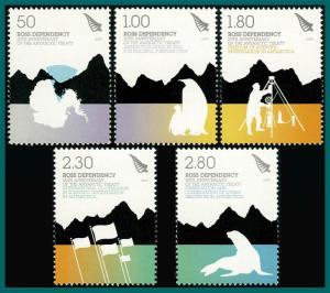 Ross Dependency 2009 Antarctic Treaty, MNH #L109-L113,SG115-SG119