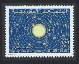 Morocco 50th Birth Anniversary of Nicolas Copernicus Astronomer SG#372