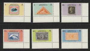 Anguilla 1979 stamp on stamp set MNH 349 - 354
