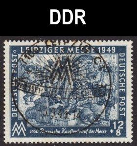 Germany DDR Scott 10NB12 VF CTO.