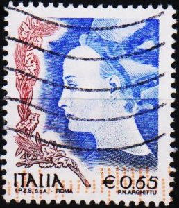Italy. 2002 65c .S.G.2716b Fine Used