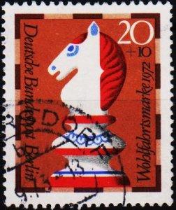 Germany(Berlin). 1972 20pf+10pf S.G.B424 Fine Used