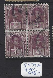 SARAWAK    (P2407B)  4C   SG 71   BL OF 4   VFU