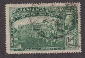 Jamaica 90 World War 1 Contingent Embarking 1921
