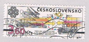 Czechoslovakia 2453 Used Wave Patterens 1983 (BP4392)