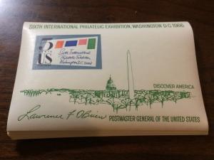 25 MNH SIPEX Souvenir Sheets from 1966 - Scott #1311