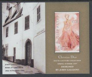 Gibraltar 739 Souvenir Sheet MNH VF