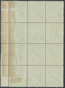 RHODESIA 1898 ARMS 21/2D SPECIMEN BLOCK */**