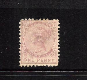 LAGOS  1874  1d   QV  MH    SG 1