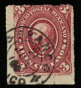 Mexico 1885 Miguel Hidalgo 5c (TS-462)