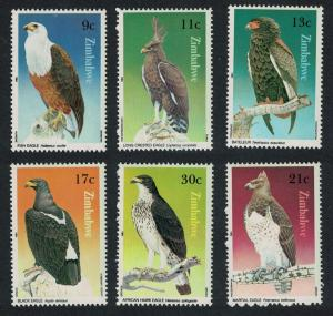 Zimbabwe Birds of Prey 6v SG#647-652