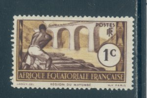 French Equatorial Africa 33  MHR