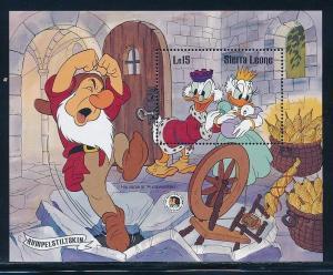 Disney Sierra Leone - MNH Souvenir Sheet Rumpelstiltskin #738 (1985)