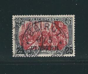 Germany Offices in Turkey 24B Mi 23 II Beirut Cds VF Cert 1900 SCV $550.00