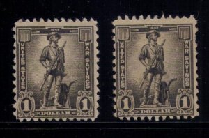 US SCOTT #WS10 x2  - Unused MINT,No Gum  F-VF