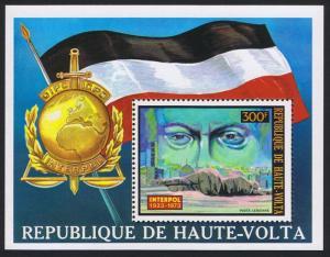 Upper Volta INTERPOL 50th Anniversary MS SC#C170