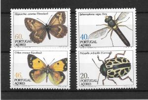 Portugal MNH 349-52 Insects SCV 3.85