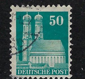 Germany AM Post Scott # 653, used