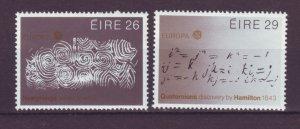 J20759 Jlstamps 1983 ireland set mhr #561-2 europa