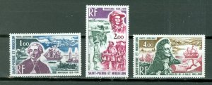ST.PIERRE & MIQUELON PORTRAITS #C51-53...SET...MNH...$45.00