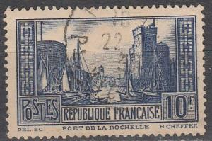 France #252 F-VF Used CV $6.50  (S8298)