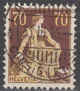 Switzerland #141 F-VF Used CV $17.00