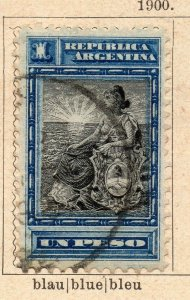 Argentina 1900 Early Issue Fine Used 1P. NW-11769