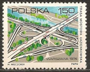 Poland #2048 Mint Never Hinged VF  (ST1507L)