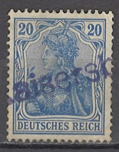 COLLECTION LOT OF #1153 GERMANY # 84 KAISER'S BOAT OVERPTINTED