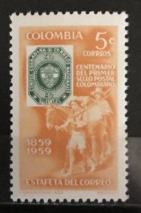 Colombia 1959 #709, MNH, CV $.25