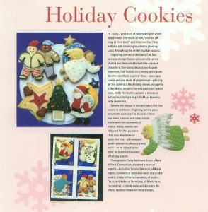 Christmas Holiday Cookies 2005, Set 4  (USCP3949-52)