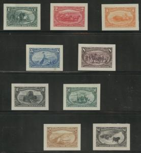 #285P2-293P2 VAR SMALL DIE PROOFS SET/9 ALL W/ PF & PSE CERTS CV $27,500 WLM6246