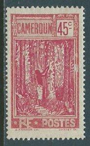 Cameroun, Sc #186, 45c MH