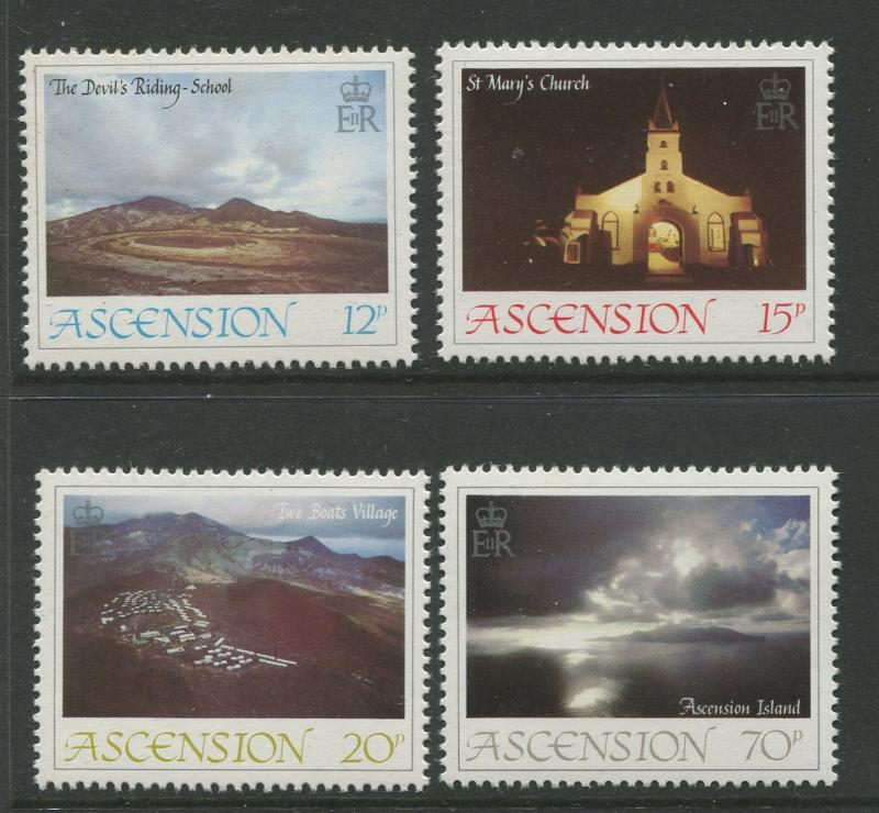 Ascension - Scott 359 - 362 - General Issue -1984 - MNH - Set of 4 Stamps