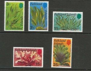 Falkland Islands 1979 Kelp And Seaweed Unmounted Mint Set SG 355/9
