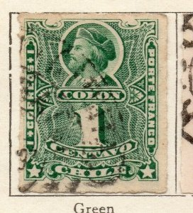 Chile 1881 Early Issue Fine Used 1c. NW-11399