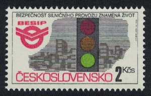 Czechoslovakia Road Safety Campaign 1v SG#3087