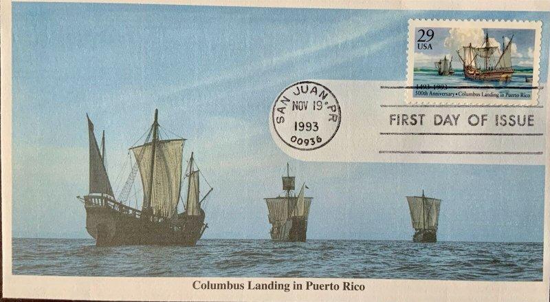 Mystic 2805 Christopher Columbus Landing in Puerto Rico San Juan